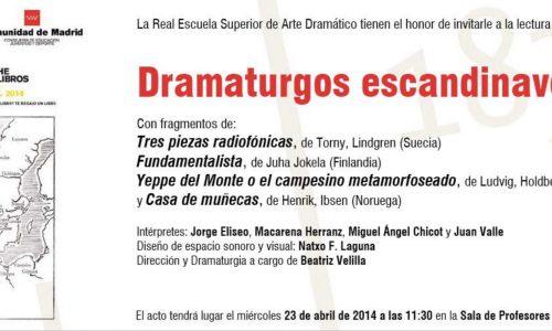 dramaturgos_escandinavos_RESAD_barlovento_lecturas_eventos